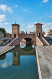 Trepponti- Comacchio, Italy Royalty Free Stock Photo