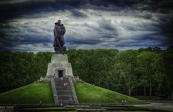Treptov-Park Stockbilder