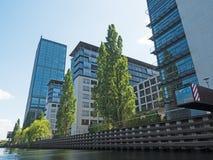 Treptower building in Berlin Stock Image