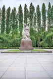 Treptower park. Mother Russia statue in Treptower park, Soviet War Memorial, Berlin, Germany Stock Photos
