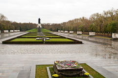 Treptower Park. View of the Treptower Park in Berlin Royalty Free Stock Images