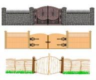 Tres épocas de la evolución de la puerta libre illustration