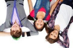 Tres adolescentes Imagen de archivo