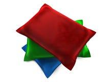 Tres almohadillas Fotografía de archivo libre de regalías