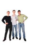 Tres amigos junto Fotografía de archivo libre de regalías