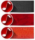 Tres banderas musicales - N1 Imagen de archivo