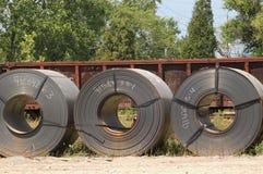 Tres bobinas Fotos de archivo