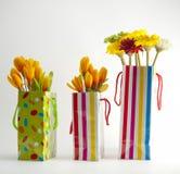 Tres bolsos del regalo Foto de archivo libre de regalías