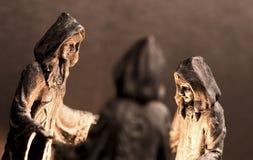 Tres brujas Fotografía de archivo