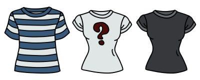 Tres camisas divertidas libre illustration
