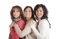 Tres chicas jóvenes Foto de archivo libre de regalías