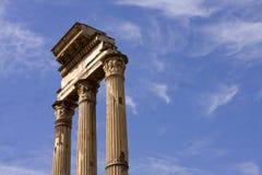 Tres columnas Fotos de archivo libres de regalías