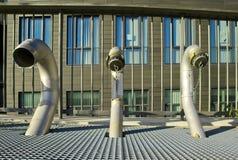 Tres columnas se secan imágenes de archivo libres de regalías