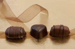 Tres convites dulces Imagenes de archivo