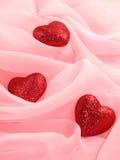Tres corazones Fotografía de archivo