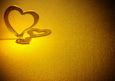 Tres corazones. Imagen de archivo libre de regalías