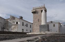 Tres Coroas ,Three Crowns Tower, Estremoz, Alentejo region, Stock Image