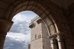 Tres Coroas ,Three Crowns Tower, Estremoz, Royalty Free Stock Image