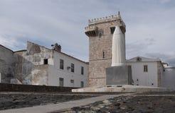 Tres Coroas, tre kronor står högt, Estremoz, den Alentejo regionen, Fotografering för Bildbyråer