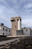 Tres Coroas & x28; Tre Crowns& x29; Torn Estremoz, Alentejo region, Po Fotografering för Bildbyråer