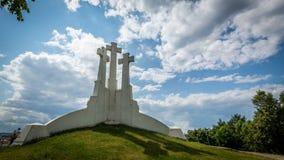 Tres cruces Fotografía de archivo