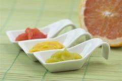 Tres cucharas de sopa Imagen de archivo