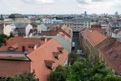Tres días en Zagreb, Croacia imagen de archivo
