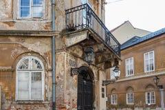 Tres días en Zagreb, Croacia imagenes de archivo