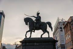 Tres días en Zagreb, Croacia foto de archivo libre de regalías