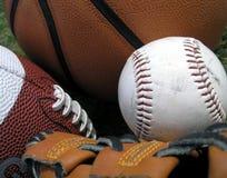 Tres deportes Foto de archivo libre de regalías
