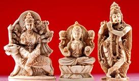 Tres dioses Fotografía de archivo libre de regalías
