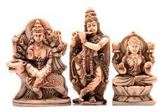 Tres dioses Imagenes de archivo