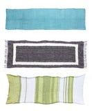 Tres diversas bufandas Imágenes de archivo libres de regalías