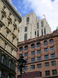 Tres edificios foto de archivo libre de regalías
