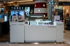 TRES en el terminal 21, Bangkok, Tailandia, el 7 de mayo de 2018 foto de archivo