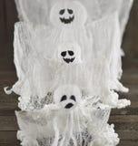 Tres fantasmas Imágenes de archivo libres de regalías