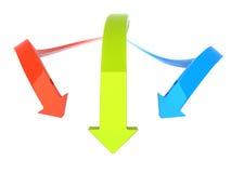 Tres flechas libre illustration