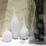 Tres floreros Imagen de archivo