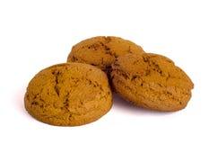 Tres galletas Imagenes de archivo
