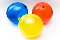 Tres globos Fotografía de archivo libre de regalías