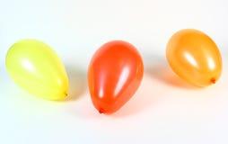 Tres globos Foto de archivo