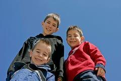 Tres hermanos Imagen de archivo libre de regalías