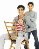 Tres hermanos junto Fotografía de archivo libre de regalías