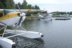 Tres hidroaviones Imagenes de archivo
