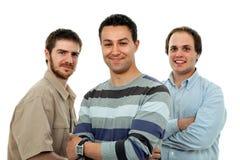 Tres hombres Fotografía de archivo libre de regalías