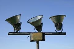 Tres lámparas Fotos de archivo libres de regalías