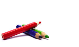 Tres lápices Foto de archivo