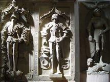 tres lápidas mortuarias imagen de archivo