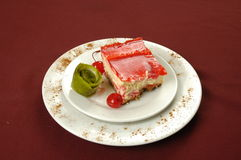 Tres leches cake Royalty Free Stock Photography