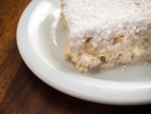 Tres leches tort Fotografia Royalty Free